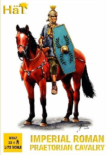 Image 0 of Hat 1/72 Imperial Roman Praetorian Cavalry (12 Mtd)