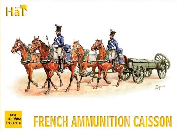 Hat 1/72 French Ammo Caisson (Re-Issue)