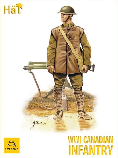 Hat 1/72 WWI Canadian Infantry (84)