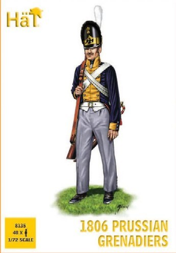 Image 0 of Hat 1/72 1806 Prussian Grenadiers (48)