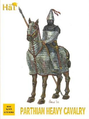 Image 0 of Hat 1/72 Parthian Heavy Cavalry (18 & 15 Horses)