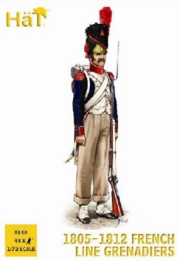 Hat 1/72 French Line Grenadiers 1805-1812 (48)