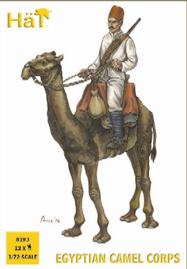 Hat 1/72 Egyptian Camel Corps (12 w/Camels)