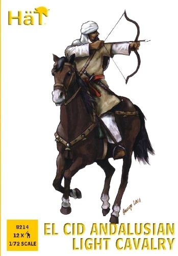Image 0 of Hat 1/72 El Cid Andalusian Light Cavalry (12 Mtd) (D)