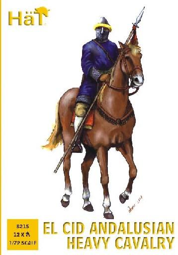 Hat 1/72 El Cid Andalusian Heavy Cavalry (12 Mtd) (D)