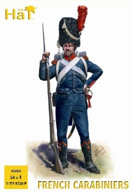 Hat 1/72 Napoleonic French Carabiniers (56)