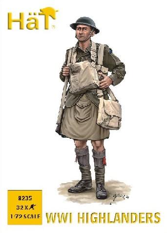 Hat 1/72 WWI Highlanders (32)
