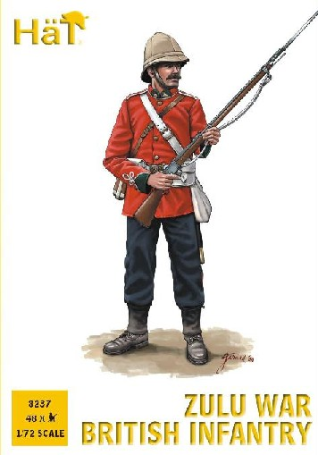 Hat 1/72 Zulu War British Infantry (48) (Re-Issue)
