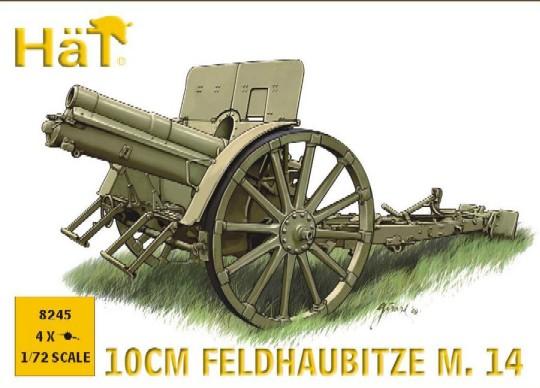 Hat 1/72 WWI Austrian 10cm M14 Field Gun (4)
