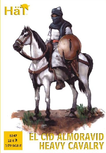 Hat 1/72 El Cid Almoravid Heavy Cavalry (12 Mtd) (D)