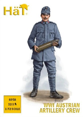 Hat 1/72 WWI Austrian Artillery Crew (32)