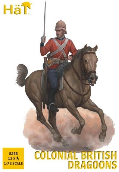 Hat 1/72 Colonial British Dragoons (12 Mtd)