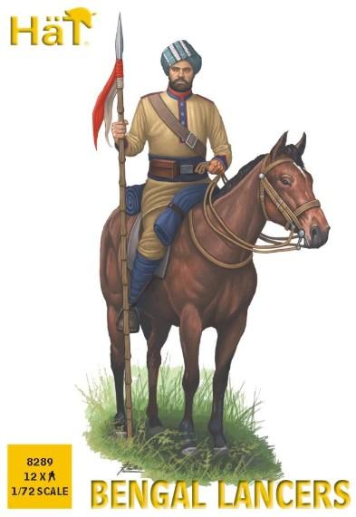 Hat 1/72 Bengal Lancers (12 Mtd)