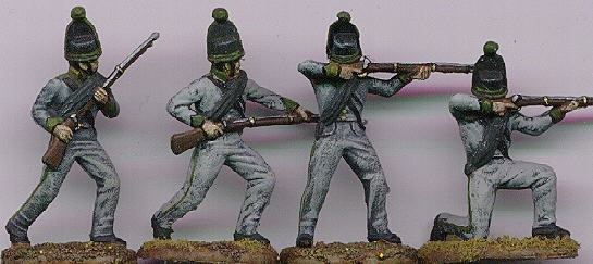 Hat 1/32 Napoleonic Brunswick Avant Garde (16) (Re-Issue)