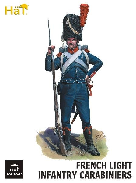 Image 0 of Hat 1/32 Napoleonic French Light Infantry Carabiniers (18)