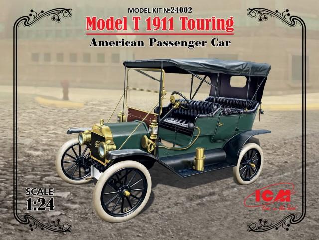 ICM Models 1/24 Model T 1911 Touring American Passenger Car