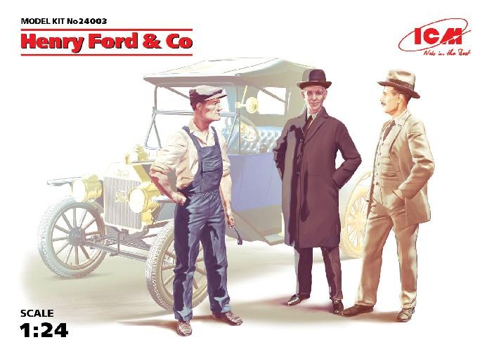 ICM Models 1/24 Henry Ford & Co. Figure Set (3)