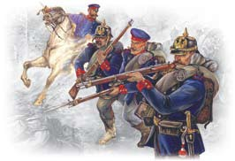 Image 0 of ICM Models 1/35 Prussian Line Infantry French-German War 1870-71 (4)