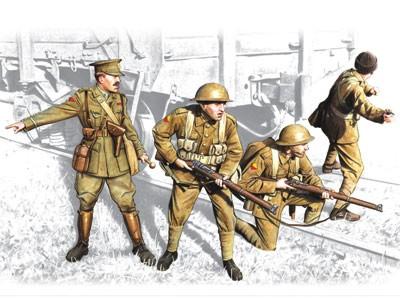 ICM Models 1/35 British Infantry 1917-18 (4)