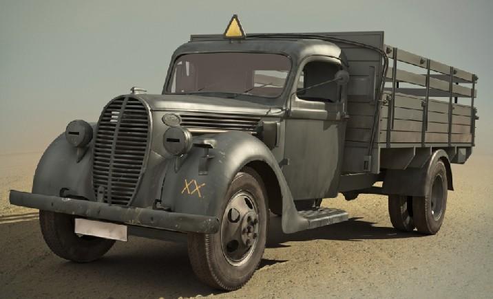ICM Models 1/35 G917T 1939 Prod German Army Truck