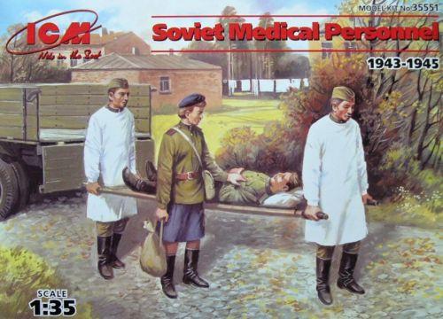 ICM Models 1/35 Soviet Medical Personnel 1943-1945 (4)