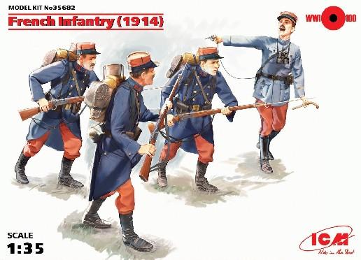 ICM Models 1/35 French Infantry 1914 (4)