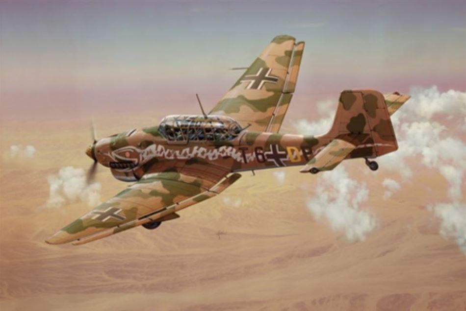 Italeri 1/72 Ju87B2/R2 Stuka German Bomber