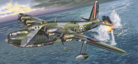 Italeri 1/72 Sunderland Mk I Flying Boat Aircraft