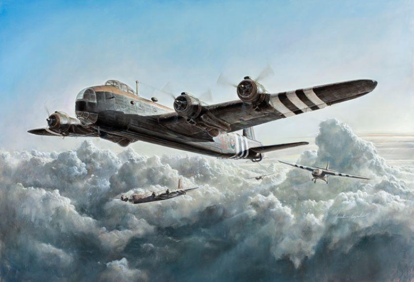 Italeri 1/72 Stirling Mk IV Glider Tug-Paratrooper Transporter Aircraft D-Day No