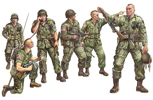Italeri 1/35 US Paratroopers D-Day (6)