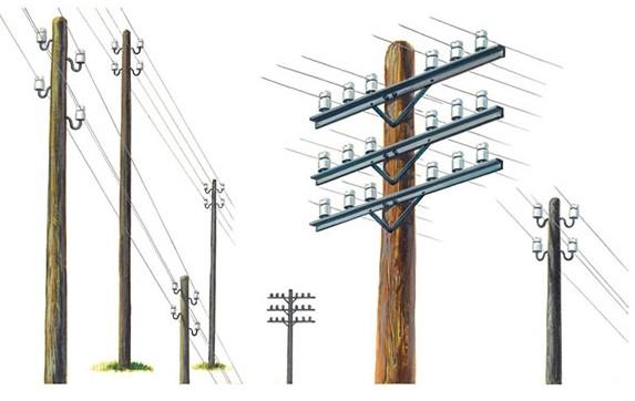 Italeri 1/35 Telegraph Poles (12)