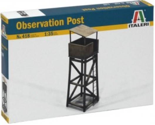 Image 0 of Italeri 1/35 Wooden-Type Observation Post