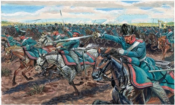 Image 0 of Italeri 1/72 Napoleonic War: Prussian Light Cavalry (17 Mtd)