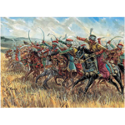 Image 0 of Italeri 1/72 Napoleonic War: Mamelucs Cavalry (17 Mtd)