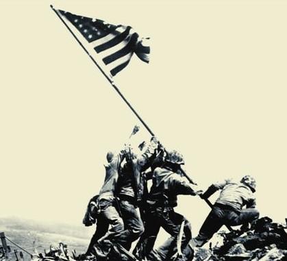 Italeri 1/72 Iwo Jima Flag Raisers (6 US Soldiers)