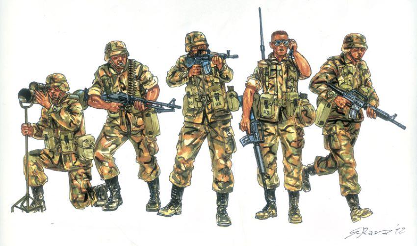 Italeri 1/72 US Infantry 1990's (50)