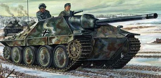 Italeri 1/72 Jagdpanzer 38(t) Hetzer Tank7057