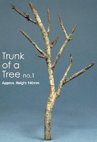 Js Work Models 5.5 Tree Trunk (Unpainted Resin)