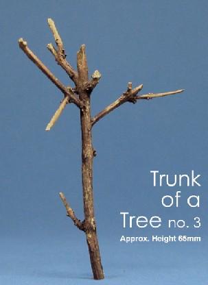 Js Work Models 2.5 Tree Trunk (Unpainted Resin)