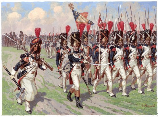 Image 0 of Zvezda 1/72 French Emperors Old Guards Grenadiers 1805-15 (41)