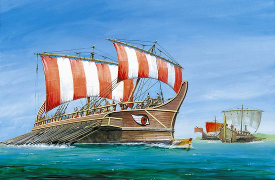 Zvezda 1/72 Greek Triera Battleship Greek-Persian War