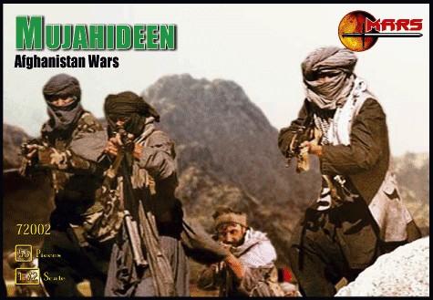 Mars Figures 1/72 Afghanistan War Mujahideen Warriors (40)