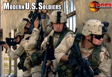 Mars Figures 1/72 Modern US Soldiers (45)