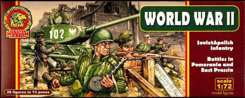 Mars Figures 1/72 Ultima Ratio: WWII Soviet & Polish Infantry Battles in Pomeran