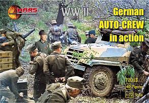 Mars Figures 1/72 WWII German Auto Crew in Action (40)