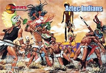 Mars Figures 1/72 Aztec Warriors (30)