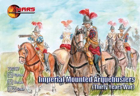 Mars Figures 1/72 Imperial Arquebusiers (12 Mtd)