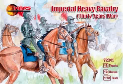 Mars Figures 1/72 Thirty Years War Imperial Heavy Cavalry (12 Mtd)