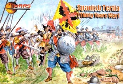 Mars Figures 1/72 Thirty Years War Spanish Tertia (48)