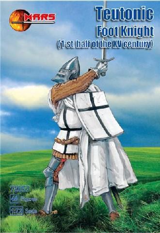 Mars Figures 1/72 1st Half XV Century Teutonic Foot Knights (48)